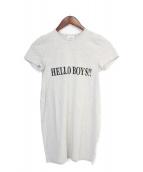 VETEMENTS(ヴェトモン)の古着「16SS プリントTシャツ」 グレー