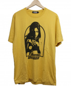 Hysteric Glamour()の古着「Tシャツ」|イエロー
