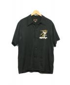 東洋エンタープライズ(トウヨウエンタープライズ)の古着「ベトナムシャツ」|ブラック