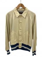 Trophy Clothing(トロフィークロージング)の古着「チームジャケット」 ベージュ