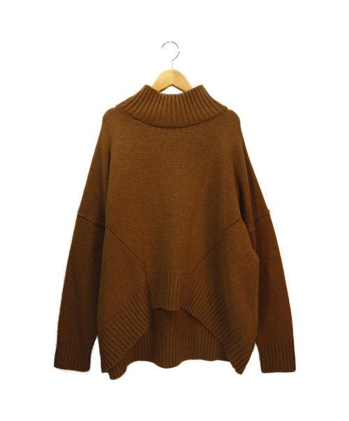 CINOH(チノ)CINOH (チノ) タートルネックニット ブラウン サイズ:38の古着・服飾アイテム