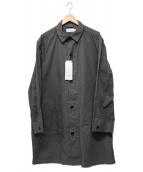 MANUAL ALPHABET(マニュアルアルファベット)の古着「ギャバジンオーダイシャツコート」|グレー