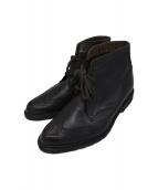 Dr.Martens(ドクターマーチン)の古着「ウィングチップブーツ」|ブラック
