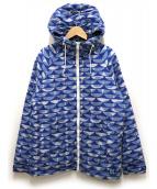HELLY HANSEN(ヘリー ハンセン)の古着「ノースインサレーションジャケット」 ブルー