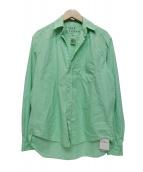 Frank&Eileen(フランクアンドアイリーン)の古着「EILEENシャツ 」|スカイブルー