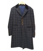 Vivienne Westwood man(ヴィヴィアンウエストウッドマン)の古着「チェスターコート」|ネイビー