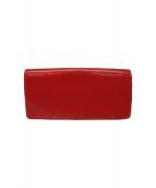 Herz(ヘルツ)の古着「長財布」|レッド