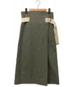 YLEVE(イレーヴ)の古着「ラップスカート」