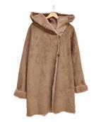 ROSSO(ロッソ)の古着「フェイクムートンコート」