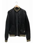 Maison Margiela 10(メゾン マルジェラ 10)の古着「マットボンバージャケット」|ブラック