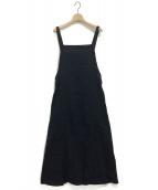 Mochi(モチ)の古着「フレンチリネンジャンパースカート」