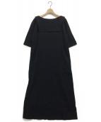 Mochi(モチ)の古着「リネンドレス」|ブラック