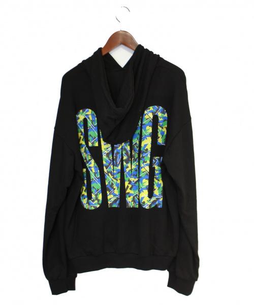 SWAGGER(スワッガー)SWAGGER (スワッガー) パーカー ブラック サイズ:XLの古着・服飾アイテム