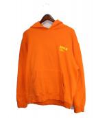 AFFIX(アフィックス)の古着「パーカー」 オレンジ