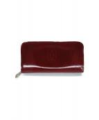 Cartier(カルティエ)の古着「ラウンドファスナー長財布」|レッド