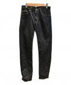 the nerdys(ザナーディーズ)の古着「Left-hand Weave 5Pocket Jeans」|インディゴ