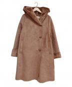 Rouge vif(ルージュヴィフ)の古着「エコムートンフーデッドコート」