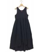 mikomori(ミコモリ)の古着「I-MATERIAL ONE PIECE」 ブラック