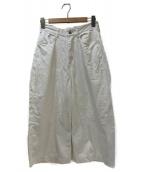GRANDMA MAMA DAUGHTER(グランマ ママ ドーター)の古着「パンツ」 ホワイト