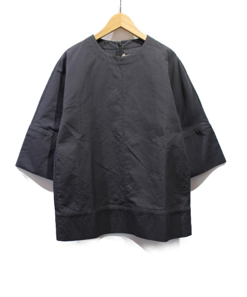 MARNI(マルニ)MARNI (マルニ) クルーネックブラウス グレー サイズ:38 未使用品の古着・服飾アイテム