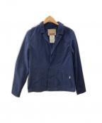 FACTOTUM(ファクトタム)の古着「コットンナイロンジャケット」|ネイビー