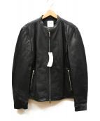 UNITED TOKYO(ユナイテッドトーキョー)の古着「ライダースジャケット」|ブラック