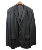 YohjiYamamoto pour homme(ヨウジヤマモトプールオム)の古着「ウールギャバテーラードジャケット」|ブラック