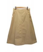 UNTITLED(アンタイトル)の古着「スカート」|ベージュ