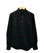 PENDLETON(ペンドルトン)の古着「チェックトレイルシャツ」|グリーン