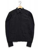 YULIA YEFIMTCHUK(ユリア イエンフィムチュック)の古着「パフスリーブシャツ」|ブラック