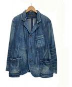 OLD JOE & Co.(オールドジョーアンドコー)の古着「ダスティーインディゴサックジャケット」