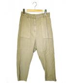 Deuxieme Classe(ドゥーズィエムクラス)の古着「ミニタリー パンツ」|ベージュ