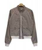 GUCCI(グッチ)の古着「スウィングトップジャケット」|グレー