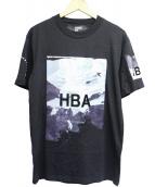 Hood By Air(フードバイエアー)の古着「プリントTシャツ」|ブラック