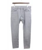 Dior Homme(ディオールオム)の古着「デニムパンツ」|グレー