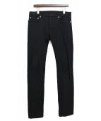 Dior Homme(ディオール オム)の古着「デニムパンツ」|ブラック