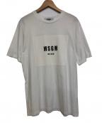 MSGM(エムエスジーエム)の古着「Tシャツ」|ホワイト