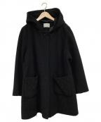 ef-de(エフデ)の古着「フード付コート」|ブラック