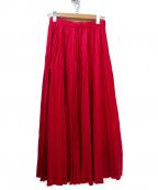 THE IRON(アイロン)の古着「ウールプリーツスカート」 ピンク