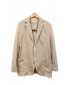 Circolo 1901(チルコロ1901)の古着「ジャージーテーラードジャケット」|ブラウン