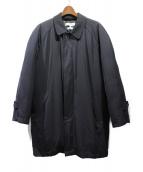 COMME des GARCONS SHIRT(コムデギャルソンシャツ)の古着「ダウンステンカラーコート」|ネイビー