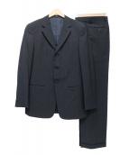 ARMANI COLLEZIONI(アルマーニコレツォーニ)の古着「3Bスーツ」|ネイビー×グレー