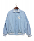 DROLE DE MONSIEUR(ドロール ド ムッシュ)の古着「バーシティジャケット」|スカイブルー