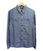 RRL(ダブルアールエル)の古着「シャンブレーシャツ」|ブルー