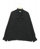 GOLDEN GOOSE(ゴールデングース)の古着「ボウタイブラウス」|ブラック