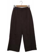 Demi-Luxe BEAMS(デミルクスビームス)の古着「パンツ」 ダークブラウン