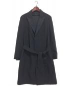 MARC JACOBS(マークジェイコブス)の古着「カットオフチェスターコート」|ブラック