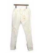 MNML(ミニマル)の古着「デニムパンツ」|ホワイト