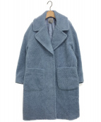 iNtimite(アンティミテ)の古着「Boa Coat」 サックスブルー