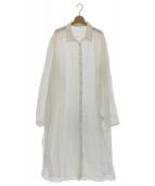 Mes Demoiselles...(メドモワゼル)の古着「シャツワンピース」|ホワイト